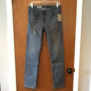 Ag Adriano Goldschmied Jeans - AG Stevie Slim Straight Jean Gray Wash